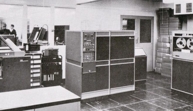 Early computerisation at Stevenage, 1967