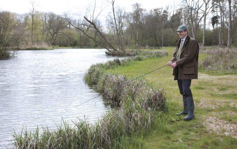 New fishing lake opened at Leckford