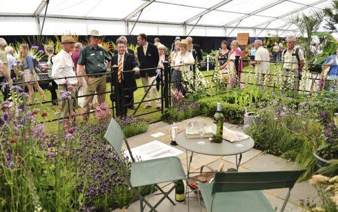 Longstock garden wins top award at county show
