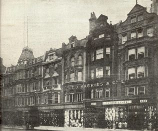 The TJ Harries exterior at the time of acquisition, 1928