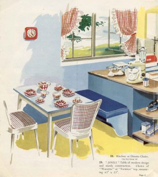 Pratts of Streatham kitchen (1950s)