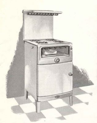 1950s cooker