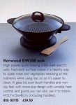 Kenwood Electric Wok