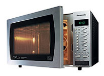 A typical Microwave oven