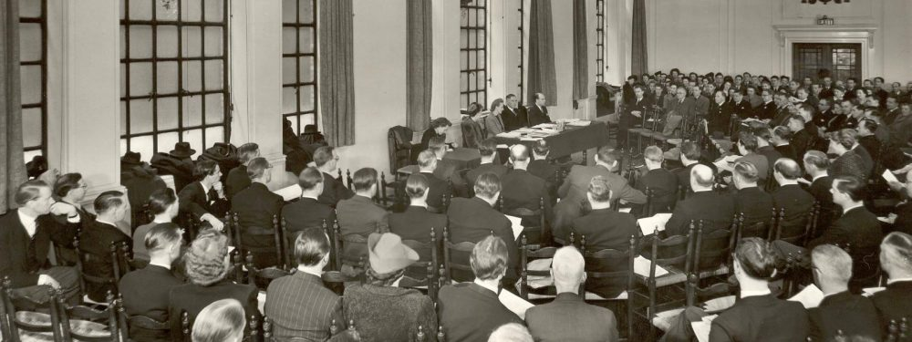 Central council meeting, 1948, Metford Watkins presiding