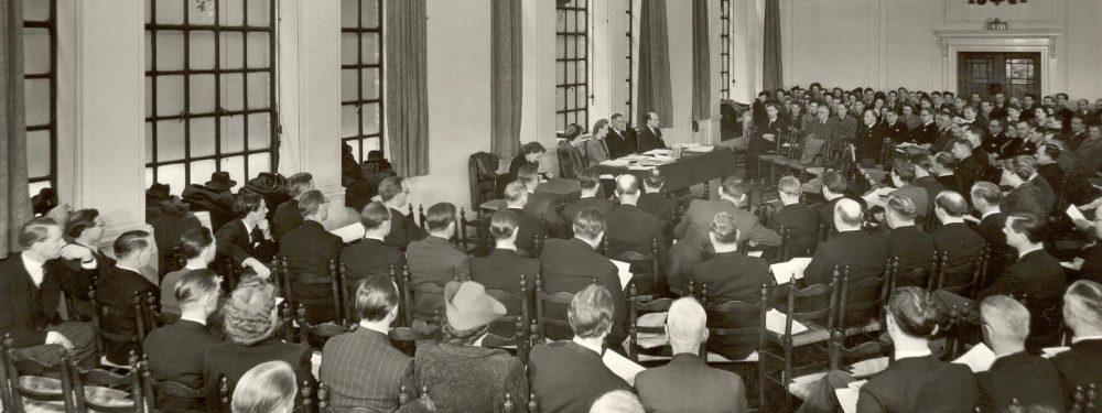 Central council meeting, 1948, Metford Watkins presiding