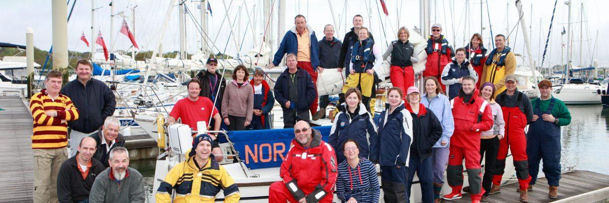 Sailing club members, 2010