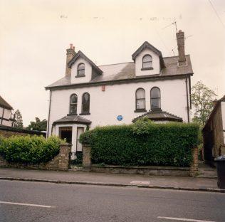 Stanley Spencer's boyhood home in Cookham | John Lewis Partnership Archives - Ref. 4524/j/ii
