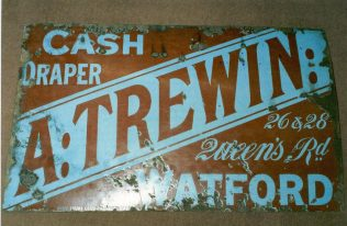 Early Trewins sign | JLP Archive Collection