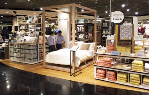 John Lewis' new shop-in-shop in Malaysia