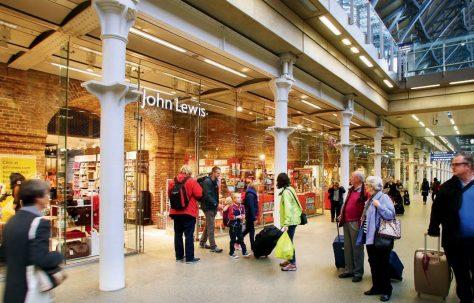 John Lewis St Pancras Opens
