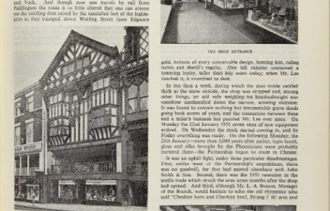 26th April 1958- A tour of G H Lee, Chester with The Gazette