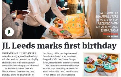 John Lewis Leeds 1st Birthday
