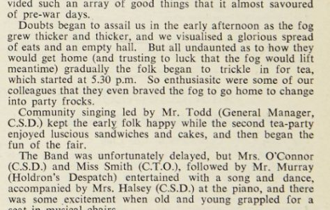 Holdrons' Christmas Party 1944