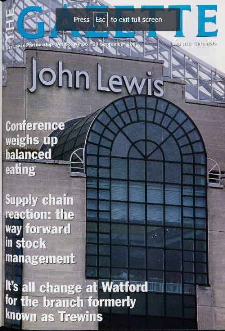 From Trewins to John Lewis
