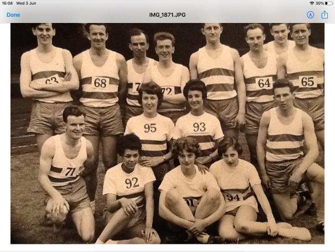GH Lee Athletics Team in the 1960's