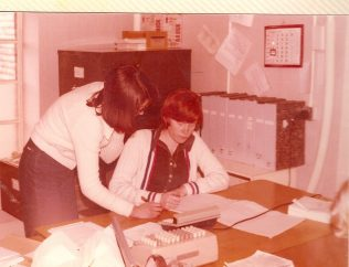 Sue and Maureen. Sue was the purchase ledger supervisor. I met a cousin of hers only 10 or 15 years ago; I seem to recall that he said that she had had a lengthy service with JLP had had only just retired, given up working or something like that. Maureen worked for her. | David Pacey