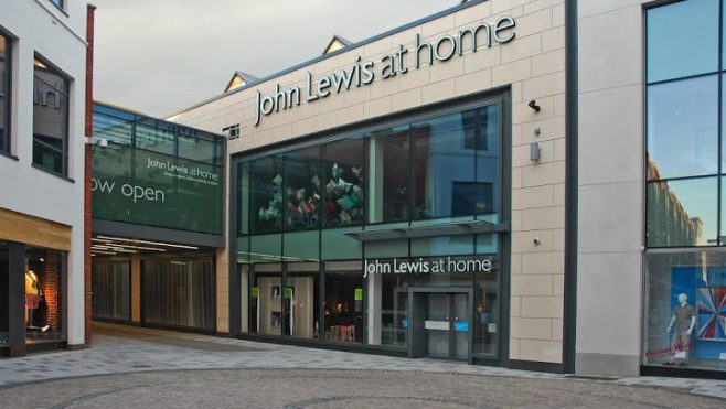 John Lewis Newbury in 2012