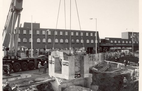 The Construction of John Lewis Kingston