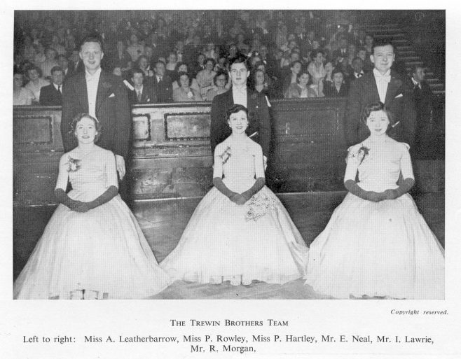 Trewins ballroom dancing team 1954 | JLP Archive Collection