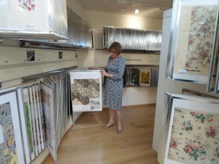 Viewing the textile archive | John Lewis Partnership Heritage Services