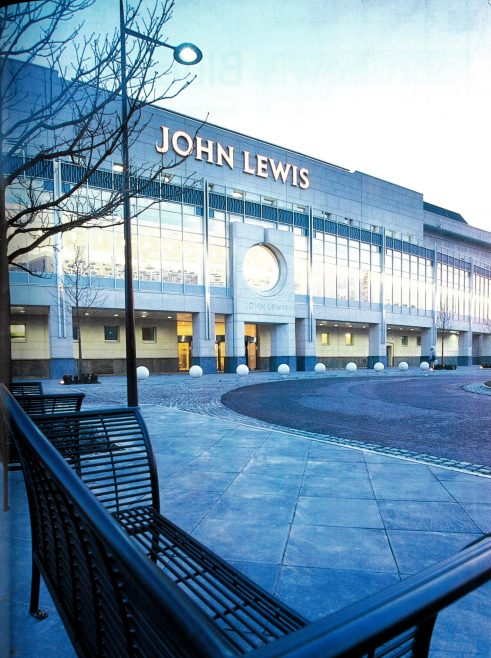 John Lewis BLuewater in all its splendour