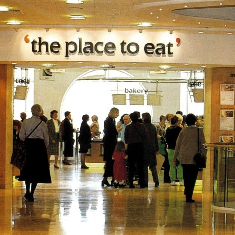 The John Lewis Bluewater Place To Eat