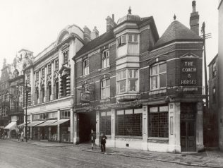 Bonds Orford Place. The location picked by Bonds as a temporary location after the bombing of the original shop
