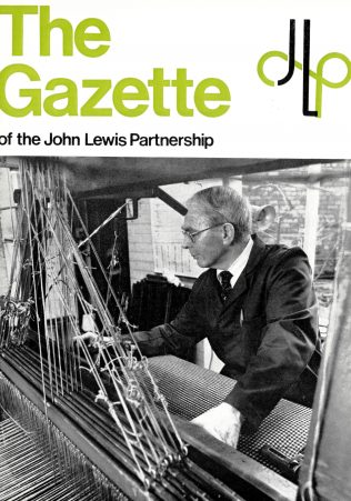 The front cover of the Gazette, February 1975