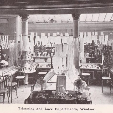 Caleys Haberdashery department 1909 | John Lewis Partnership Heritage Services