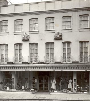 Caleys exterior, 1954 | John Lewis Partnership Archives - Ref. 4206/f/ii