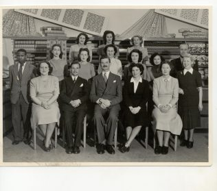 The Partners of John Lewis' Cape Town store. The man sat in the front right centre spot is Mr L.B Smith, Managing Director of John Lewis (South Africa)