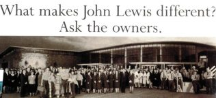 The unique, poignant advert accompanying the opening of John Lewis Cheadle