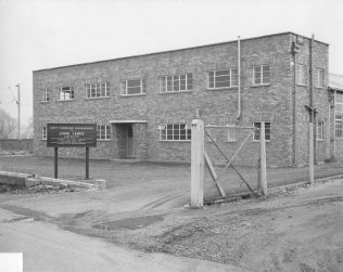 The exterior of the Cheshunt workroom, 1959-1972
