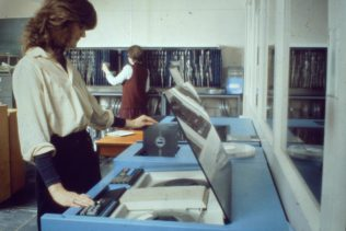 Clipstone Street computers in operation, 1978-1979