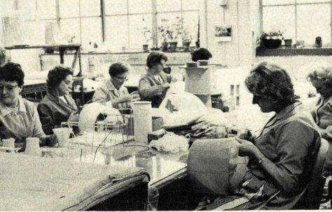 The Colello lampshade factory, 1940-1978