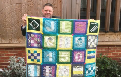 Welwyn 150 Year Quilted Blanket