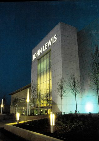 The outstanding exterior of John Lewis Cribbs Causeway