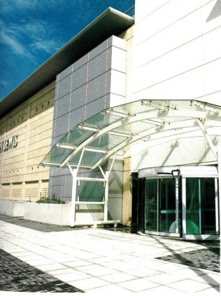The frontage of John Lewis Cribbs Causeway, completed by 1997