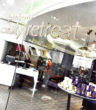 The beauty retreat at John Lewis Cheadle: one of two brand new concepts at the branch