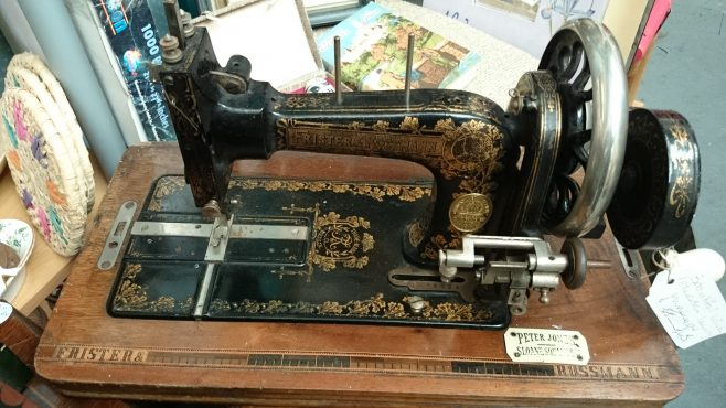 A Peter Jones historic sewing machine