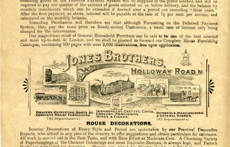 Jones Bros (Holloway)