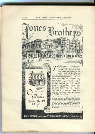 Jones Bros (Holloway)