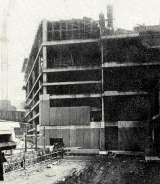 John Lewis Edinburgh under construction, 1971