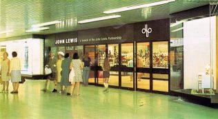 Customers begin to gather outside the brand new John Lewis Edinburgh