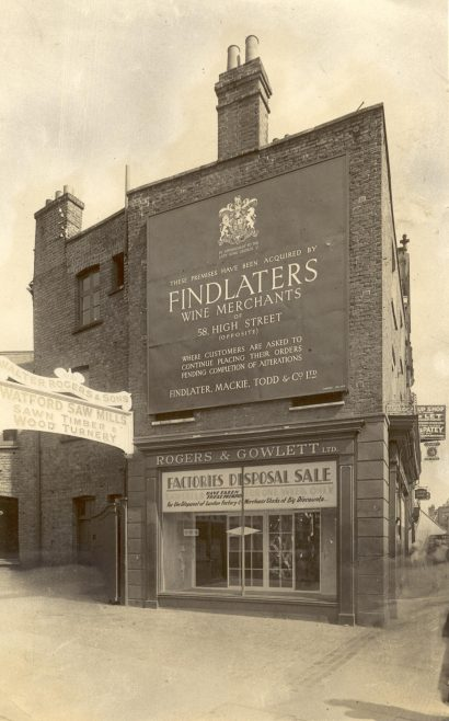 Findlater, Mackie, Todd & Co. | JLP Archive Collection