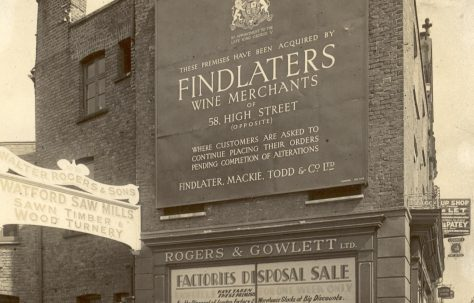 Exterior of Findlater, Mackie, Todd