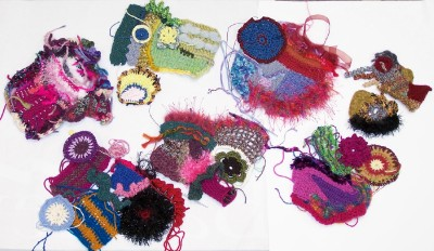 Freeform madness scrumbles from the day   From the private collection of Heike Gittins