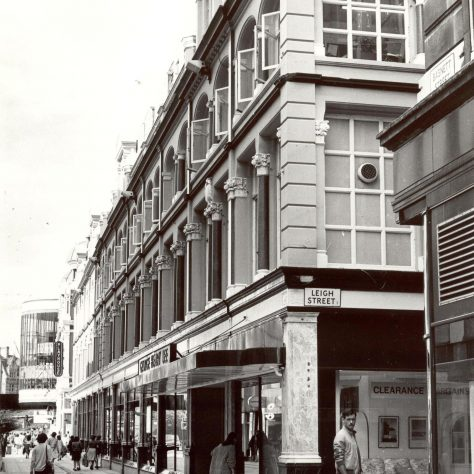The GH Lee exterior, 1982