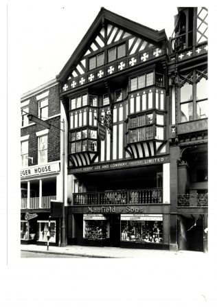 Exterior of G H Lee (Chester) | John Lewis Partnership Archives
